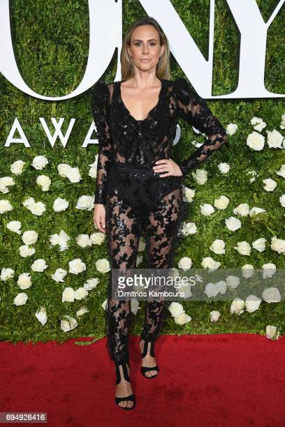 Keltie Knight attends the 2017 Tony Awards at Radio City Music Hall on June 11 2017 in New York City