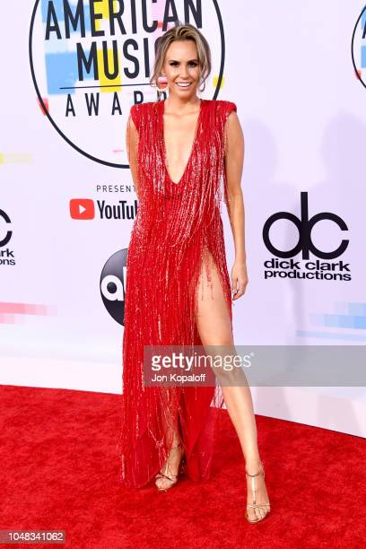Keltie Knight attends the 2018 American Music Awards at Microsoft Theater on October 9 2018 in Los Angeles California