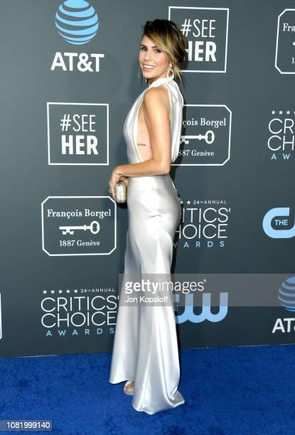 Keltie Knight attends the 24th annual Critics' Choice Awards at Barker Hangar on January 13 2019 in Santa Monica California