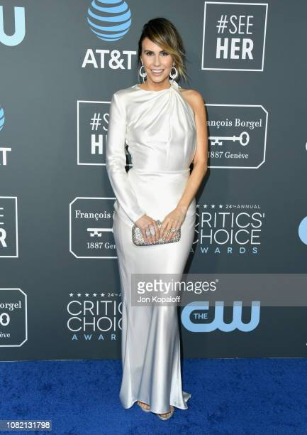 Keltie Knight attends the 24th annual Critics' Choice Awards at Barker Hangar on January 13, 2019 in Santa Monica, California.