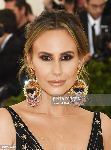 Keltie Knight attends the Heavenly Bodies Fashion The Catholic Imagination Costume Institute Gala at The Metropolitan Museum of Art on May 7 2018 in...