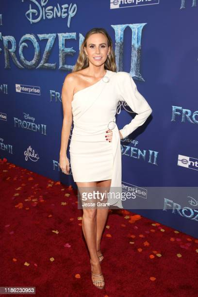 Keltie Knight attends the world premiere of Disney's Frozen 2 at Hollywood's Dolby Theatre on Thursday November 7 2019 in Hollywood California