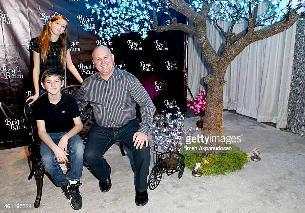 Kelton Dumont Sinclair Dumont and actor James DuMont attend Kari Feinstein's PreGolden Globes Style Lounge at Andaz West Hollywood on January 8 2015...