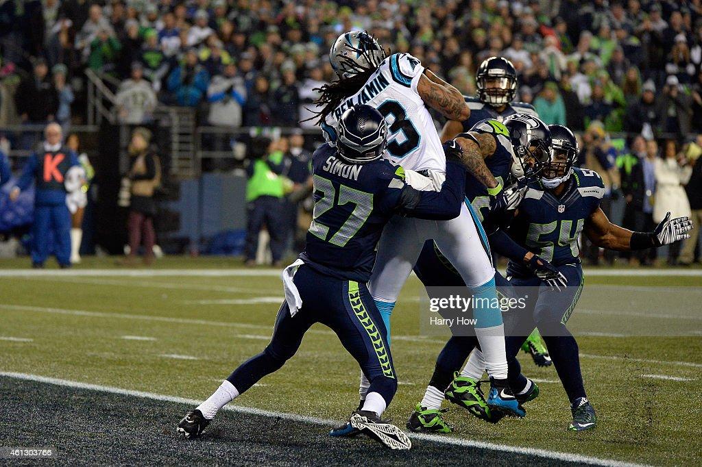 Divisional Playoffs - Carolina Panthers v Seattle Seahawks