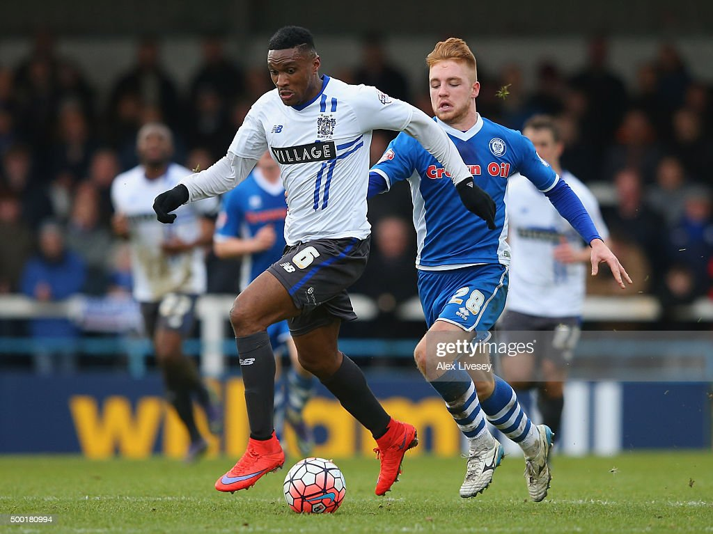 Rochdale v Bury - The Emirates FA Cup Second Round : News Photo