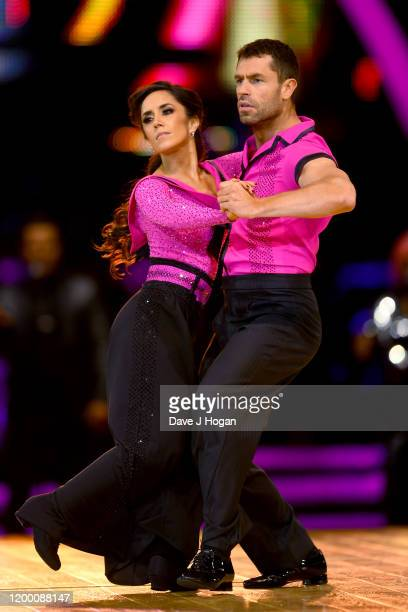 Kelvin Fletcher and Janette Manrara during the opening night of the Strictly Come Dancing Arena Tour 2020 at Arena Birmingham on January 16 2020 in...