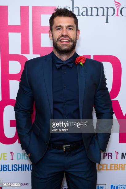 Kelvin Fletcher attends the Rainbows Celebrity Charity Ball at Dorchester Hotel on June 1 2018 in London England