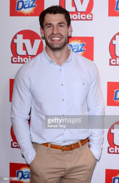 Kelvin Fletcher attends the TV Choice Awards 2013 at The Dorchester on September 9 2013 in London England