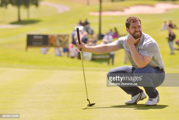 Kelvin Fletcher on day two of the Celebrity Cup at Celtic Manor Resort on July 2 2017 in Newport Wales