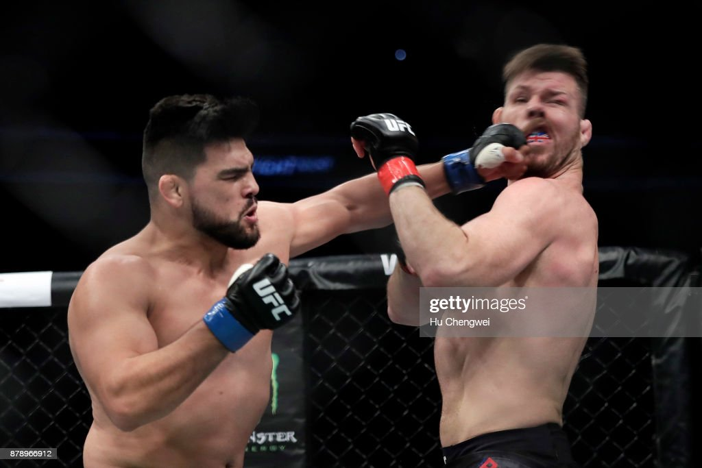 UFC Fight Night: Bisping v Gastelum : News Photo
