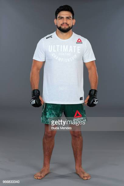 Kelvin Gastelum of the United States poses for a portrait during a UFC photo session on May 09 2018 in Rio de Janeiro Brazil