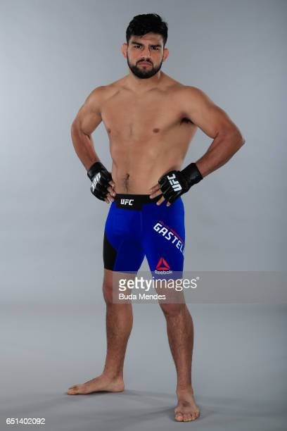 Kelvin Gastelum poses for a portrait during a UFC photo session at Gran Marquise Hotel on March 08 2017 in Fortaleza Brazil