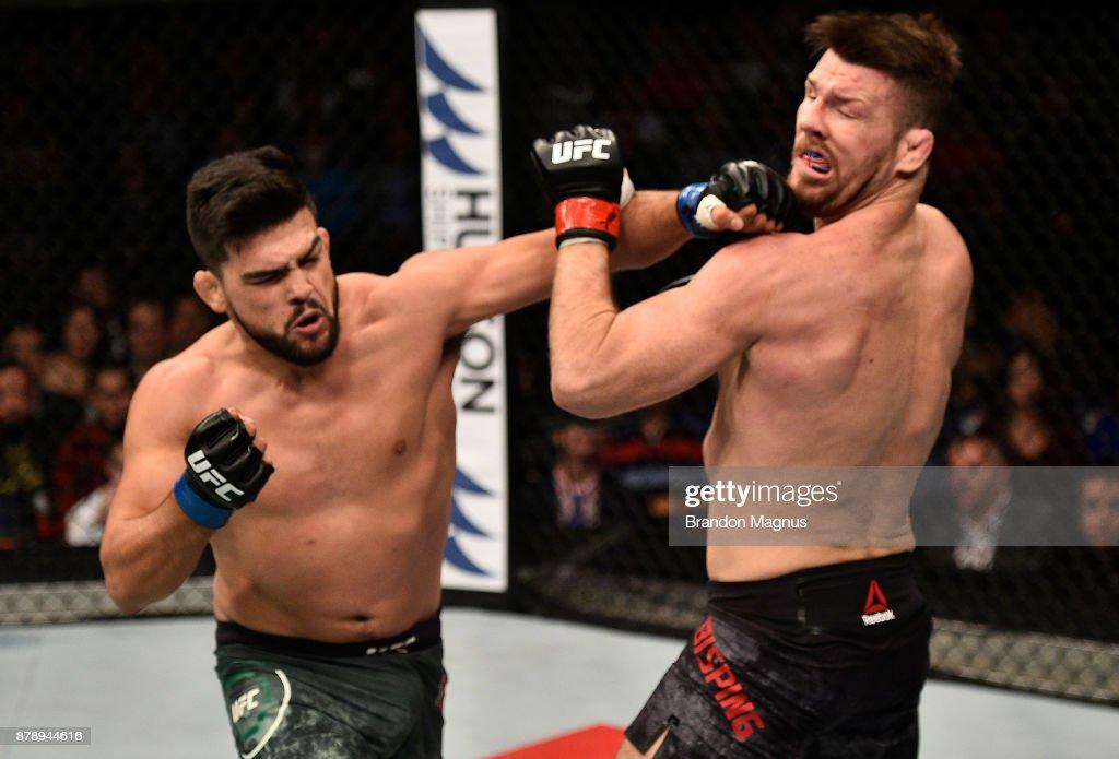 UFC Fight Night: Bisping v Gastelum : News Photo