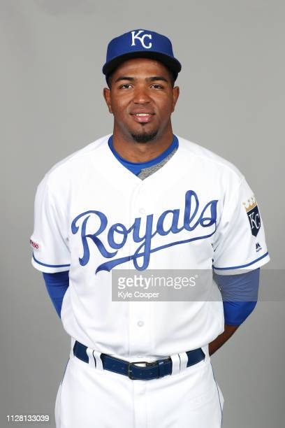 Kelvin Gutierrez of the Kansas City Royals poses during Photo Day on Thursday February 21 2019 at Surprise Stadium in Surprise Arizona