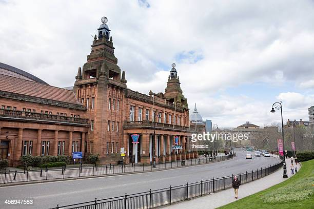 kelvin hall, glasgow - theasis foto e immagini stock