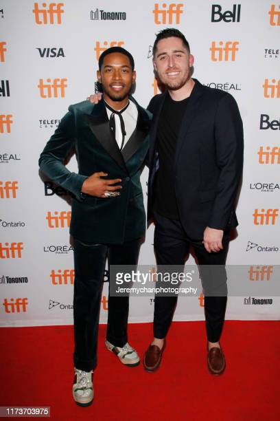 Kelvin Harrison Jr and Trey Edward Shults attend the Waves Premiere held at Ryerson Theatre on September 10 2019 in Toronto Canada