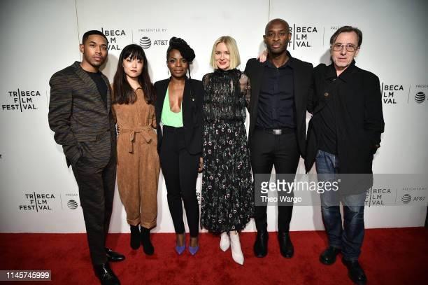 Kelvin Harrison Jr Andrea Bang Marsha Stephanie Blake Naomi Watts Julius Onah and Tim Roth attend Luce 2019 Tribeca Film Festival at BMCC Tribeca PAC...
