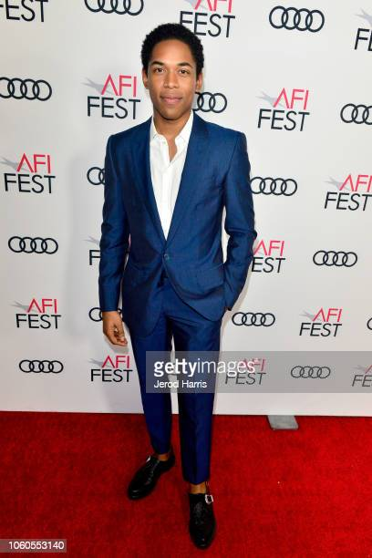 Kelvin Harrison Jr attends Festival Filmmakers at AFI FEST 2018 Presented By Audi at TCL Chinese 6 Theatres on November 11 2018 in Hollywood...