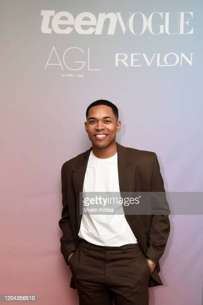 Kelvin Harrison Jr attends Teen Vogue Celebrates Young Hollywood 2020 at San Vicente Bungalows on February 05 2020 in West Hollywood California