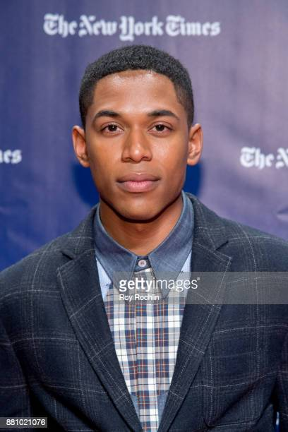 Kelvin Harrison Jr attends the 2017 IFP Gotham Awards at Cipriani Wall Street on November 27 2017 in New York City