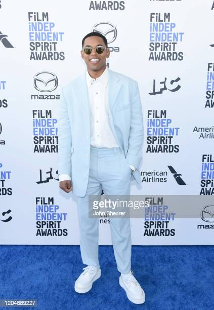 Kelvin Harrison Jr attends the 2020 Film Independent Spirit Awards on February 08 2020 in Santa Monica California