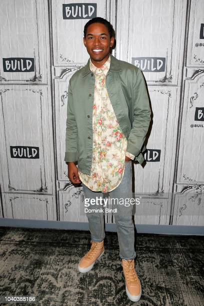 Kelvin Harrison Jr attends the Build Series to discuss 'Monsters and Men' at Build Studio on September 25 2018 in New York City