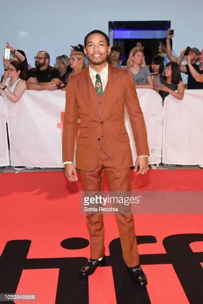 Kelvin Harrison Jr attends the 'Jeremiah Terminator LeRoy' Premiere during 2018 Toronto International Film Festival at Roy Thomson Hall on September...