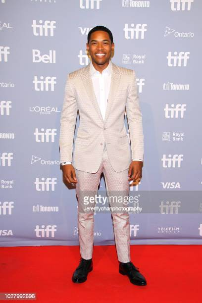 Kelvin Harrison Jr attends the Monsters And Men Premiere during the 2018 Toronto International Film Festival at TIFF Bell Lightbox on September 6...