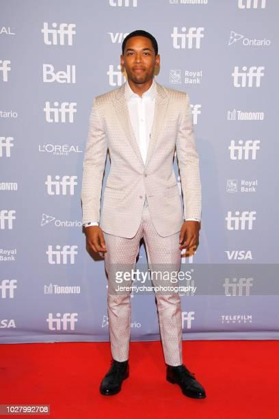Kelvin Harrison Jr attends the Monsters And Men Premiere during the 2018 Toronto International Film Festival at TIFF Bell Lightbox on September 6...