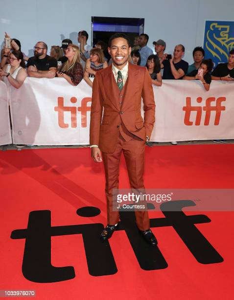 Kelvin Harrison Jr attends the premiere of Jeremiah Terminator LeRoy at Roy Thomson Hall on September 15 2018 in Toronto Canada