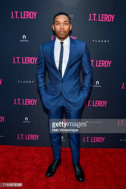 Kelvin Harrison Jr attends the LA premiere of Universal Pictures' JT Leroy at ArcLight Hollywood on April 24 2019 in Hollywood California