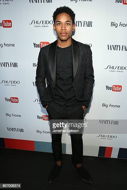 Kelvin Harrison Jr attends the Vanity Fair Celebrates Emmy Weekend with YouTube And Shiseido At Vanity Fair Social Club at PLATFORM on September 16...
