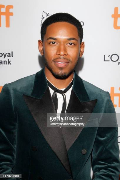 Kelvin Harrison Jr attends the Waves Premiere held at Ryerson Theatre on September 10 2019 in Toronto Canada