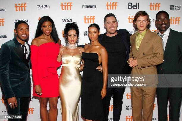 Kelvin Harrison Jr Renée Elise Goldsberry Alexa Demie Taylor Russell Trey Edward Shults Lucas Hedges and Sterling K Brown attend the Waves Premiere...
