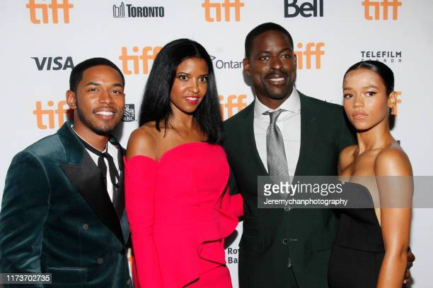 Kelvin Harrison Jr Renée Elise Goldsberry Sterling K Brown and Taylor Russell attend the Waves Premiere held at Ryerson Theatre on September 10 2019...