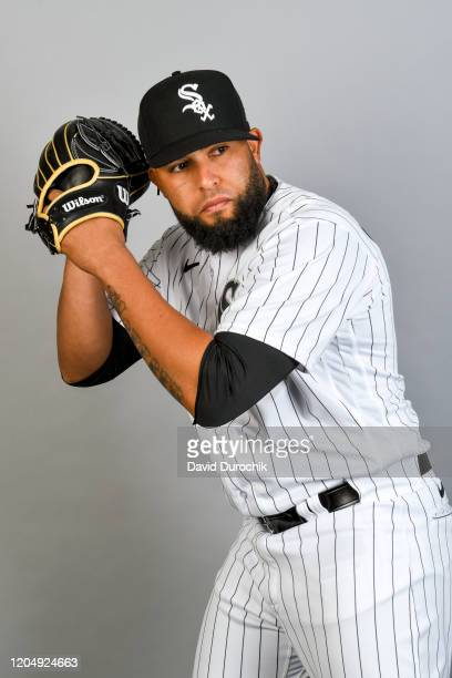 Kelvin Herrera of the Chicago White Sox poses during Photo Day on Thursday February 20 2020 at Camelback Ranch in Glendale Arizona