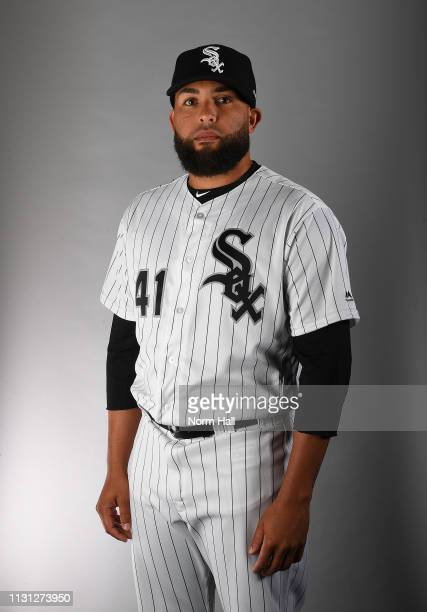 Kelvin Herrera of the Chicago White Sox poses for a portrait on photo day at Camelback Ranch on February 21 2019 in Glendale Arizona