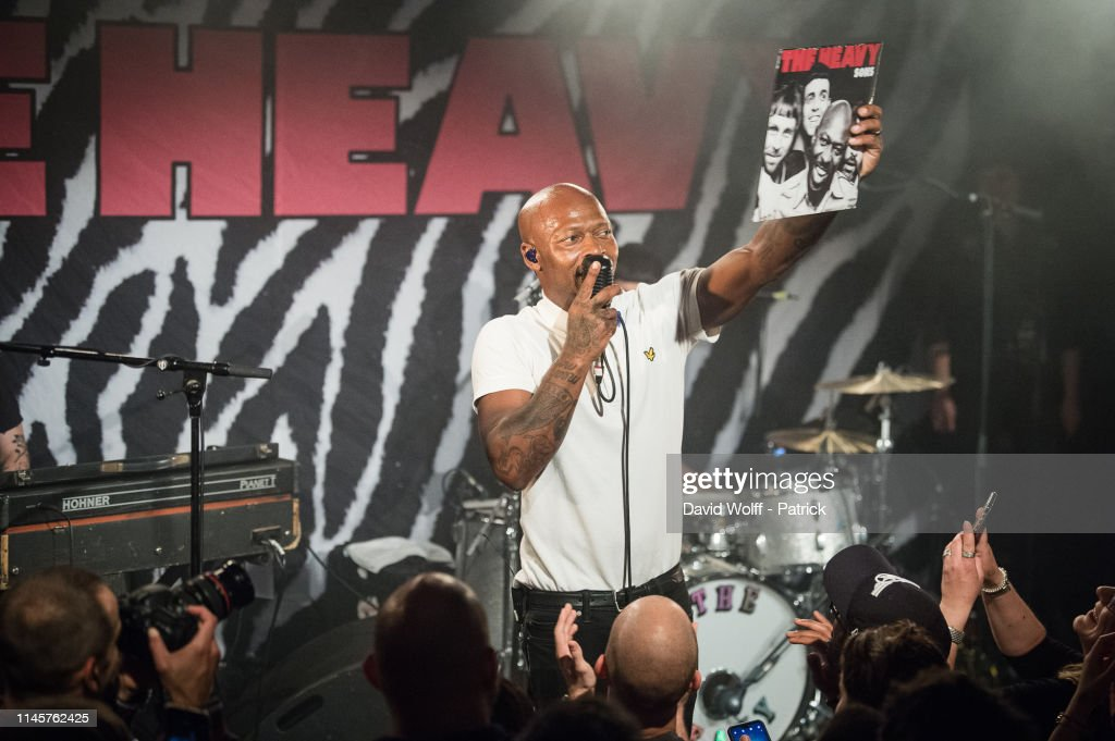 FRA: The Heavy Performs At La  Maroquinerie In Paris