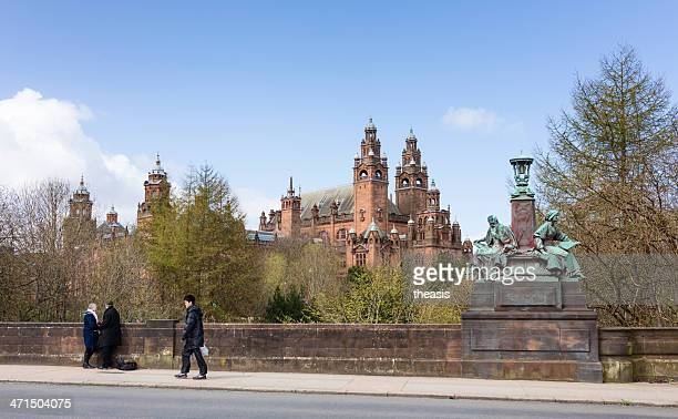 kelvingrove art gallery - kelvingrove art gallery and museum stock pictures, royalty-free photos & images