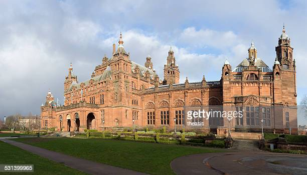 kelvingrove museum and gallery, glasgow - kelvingrove art gallery and museum stock pictures, royalty-free photos & images