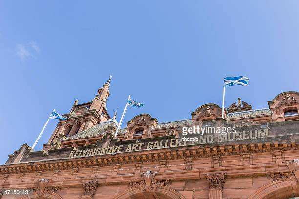 kelvingrove museum and gallery - kelvingrove art gallery and museum stock pictures, royalty-free photos & images