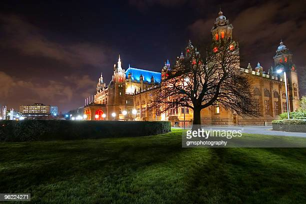 kelvingrove museum - kelvingrove art gallery and museum stock pictures, royalty-free photos & images