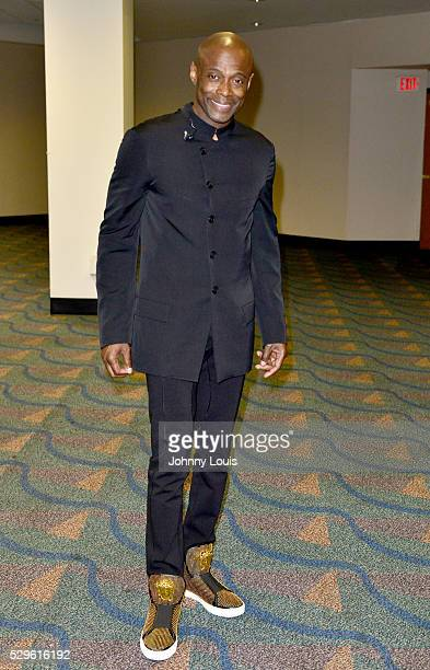Kem backstage during a meet and greet after performing during 3rd Annual Mother's Day Experience at James L Knight Center on May 8 2016 in Miami...