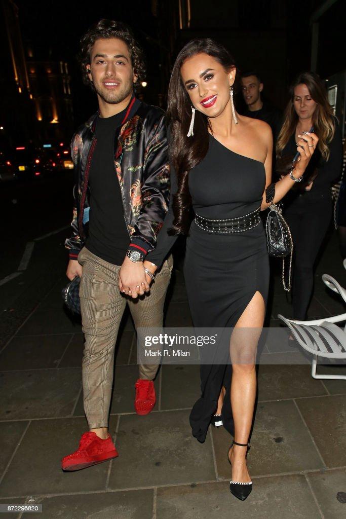 London Celebrity Sightings -  November 09, 2017