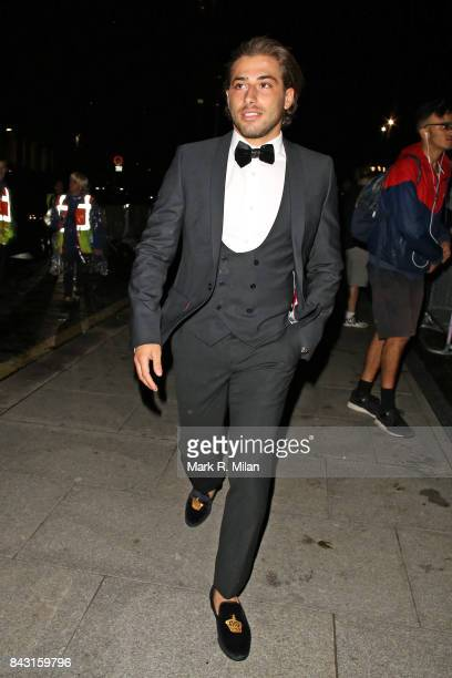 Kem Cetinay attending the GQ awards on September 5 2017 in London England