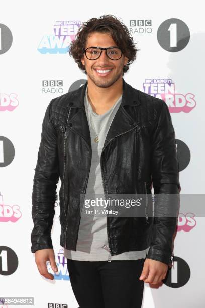 Kem Cetinay attends the BBC Radio 1 Teen Awards 2017 at Wembley Arena on October 22 2017 in London England