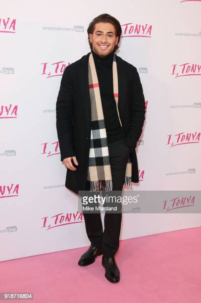 Kem Cetinay attends the 'I Tonya' UK premiere held at The Curzon Mayfair on February 15 2018 in London England