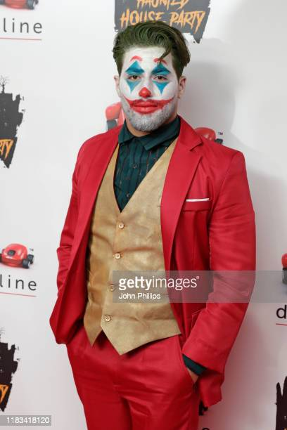 Kem Cetinay attends the KISS Haunted House Party 2019 at The SSE Arena Wembley on October 25 2019 in London England