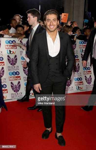 Kem Cetinay attends the Pride Of Britain Awards at Grosvenor House on October 30 2017 in London England