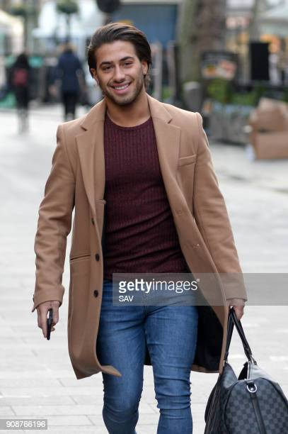 Kem Cetinay outside Global House on January 22 2018 in London England